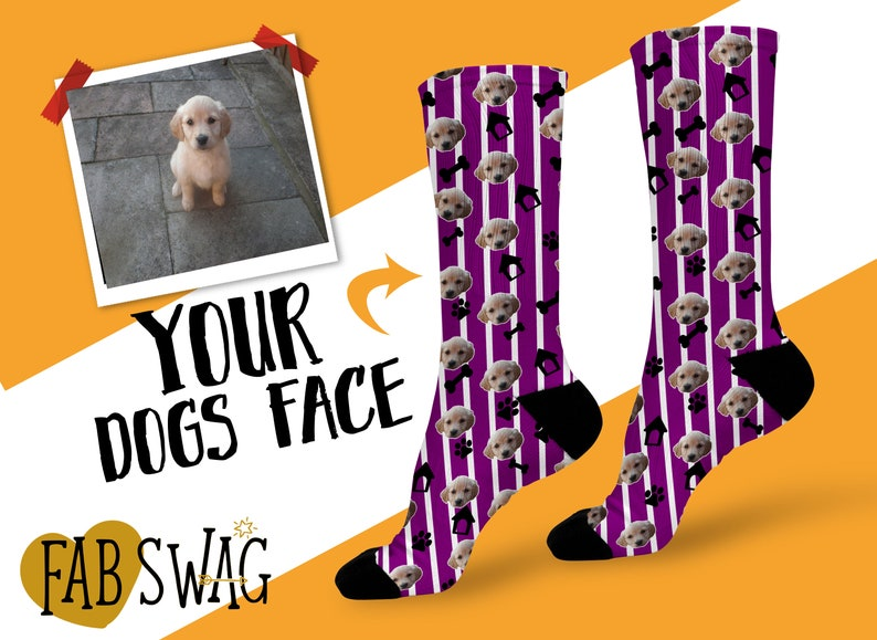Pet Owner Gifts Custom Pet Gifts Custom Sock Gifts Dog Face Socks Dog Photo Gift Custom Dog Gifts Personalised Dog Socks Unique Pets