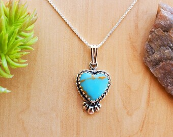 Red Cross Stitch Heart Locket Valentine/'s Day Necklace Turquoise Embroidery Jewelry Small Heart Pendant Cotton Anniversary Gift for Her