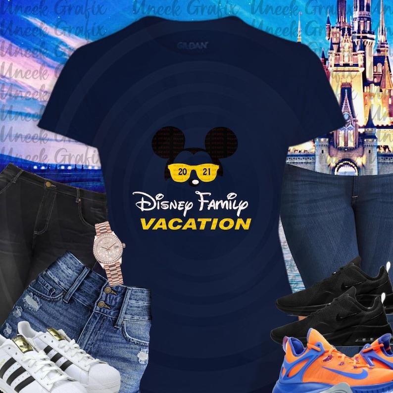 Kids Disney Vacation Graphic Tee