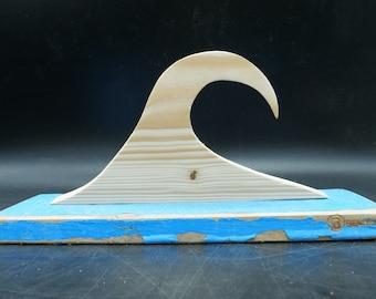 Wooden wave handmade
