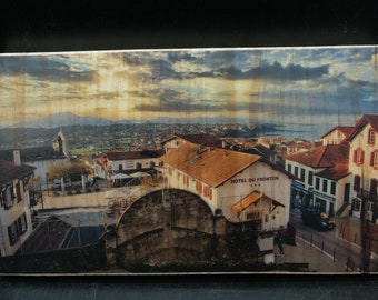 Photo on Bidart wood in the Basque Country