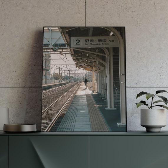 Shadow Tokyo Wall Art 5x7 Printed and Shipped