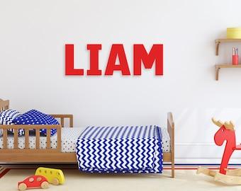 "Kids Room Decor, Custom Name Sign, 10"" Square Letters"