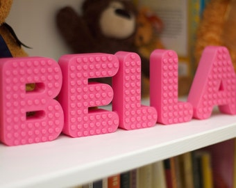 Nursery Decor, Personalized Name Sign
