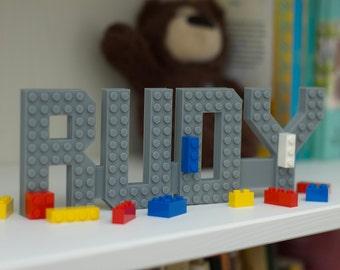 Medium Brick Name- Kids Room Decor