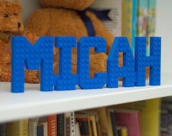 Brick Name Signs - Kids Room Decor