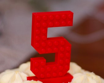 Boys Birthday Cake Topper