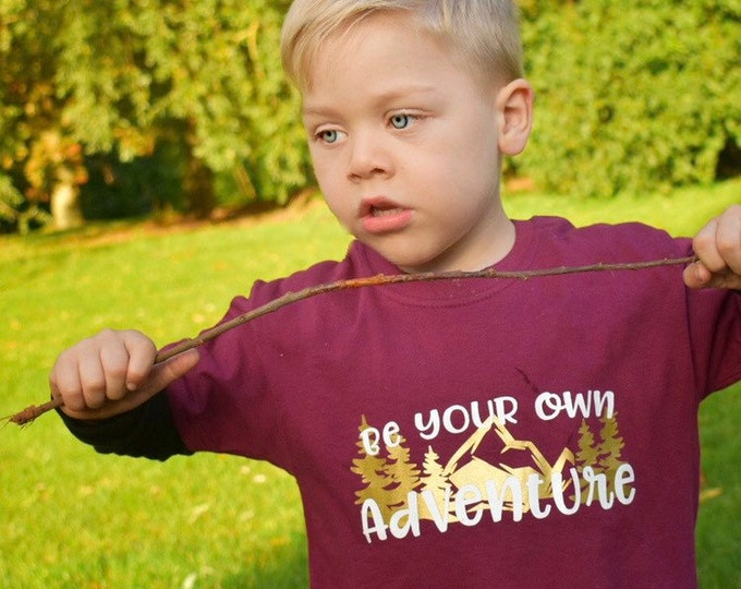 Featured listing image: Be Your Own Adventure Children's T-Shirt - 3-10 Years