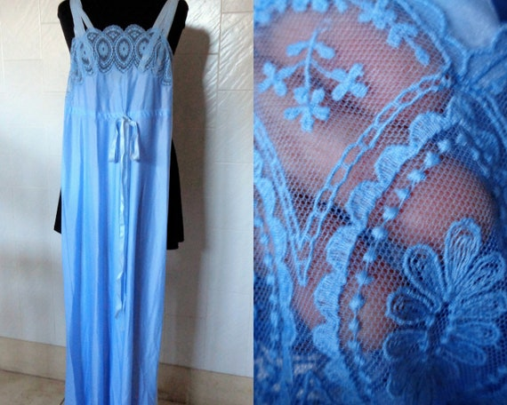 Vintage Italy quality Nightgown Made in Italy 70s