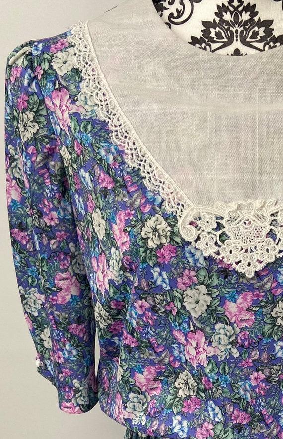 Vintage 1980s/90s Dress - image 10