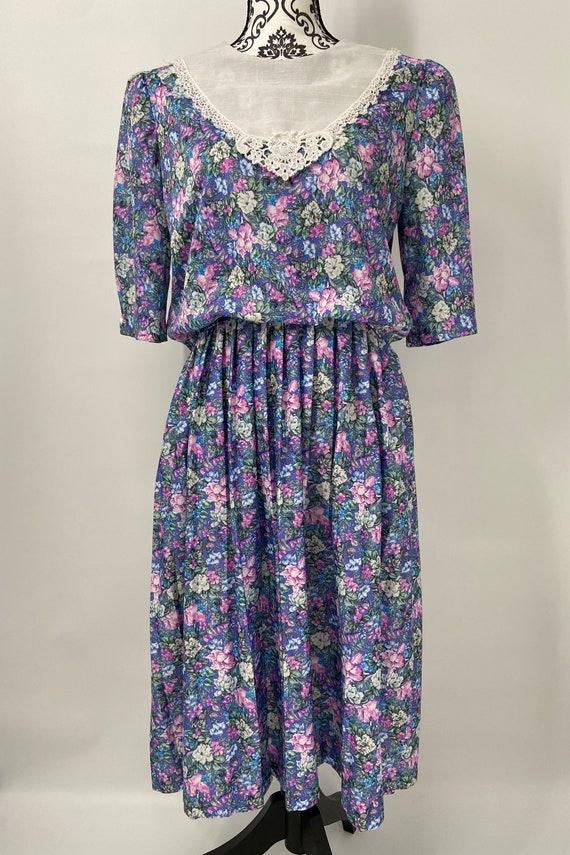 Vintage 1980s/90s Dress - image 9