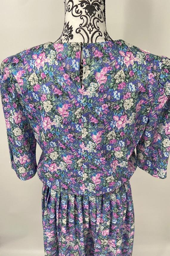Vintage 1980s/90s Dress - image 8