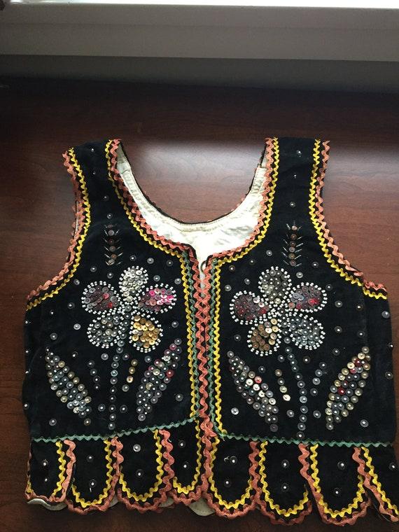 Vintage Handmade Polish Child's Folk Dance Costume