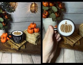 Pumpkin Spice Latte Mini Mug
