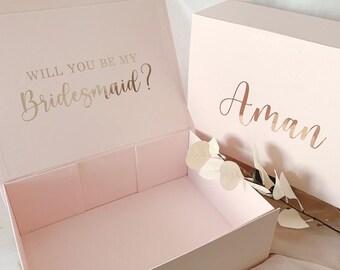 Bridesmaid Box   Maid of Honor Box   Bridesmaid Gift Box   Empty Gift Box   Personalized Gift Box   Proposalized Boxes   Bridesmaid Proposal
