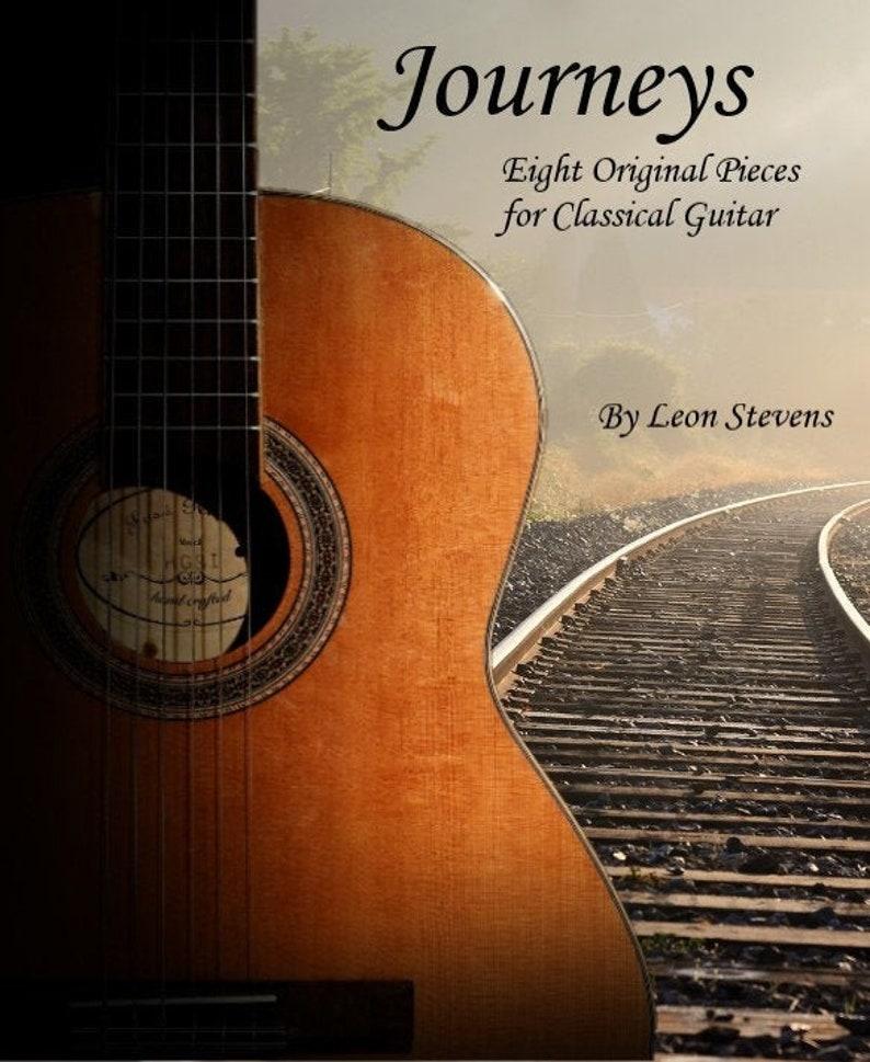 Journeys: Eight Original Pieces for Classical Guitar image 1