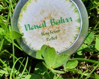 Chakra Amour Nasal Balm  infused with Essential oils for Hay Fever Relief