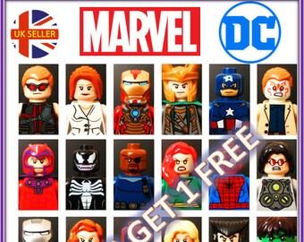 Spider Gwen Stacey super Hero USA seller Spider Man Custom Minifigure