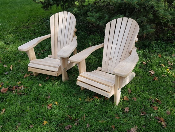 Heavy Duty Sun Lounger, White Cedar Adirondack Chairs Etsy