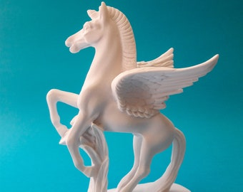 Horse Decor Right /& Left Side Marble and Alabaster Beautiful Handmade Greek Sculpture 15.5cm-6.10in   Free Shipping Free Tracking Number