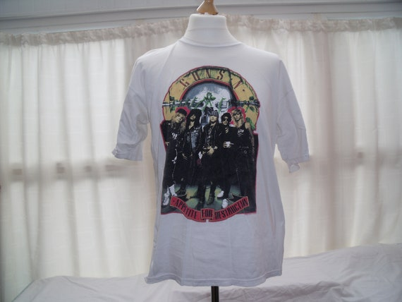 Vintage Guns n Roses t shirt