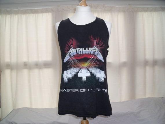 Vintage Metallica vest