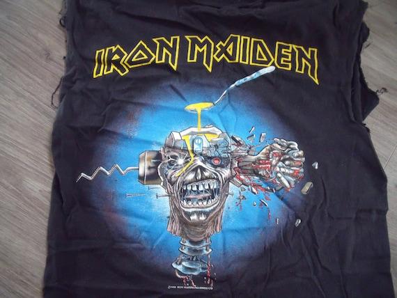 Vintage Iron Maiden T shirt - image 3
