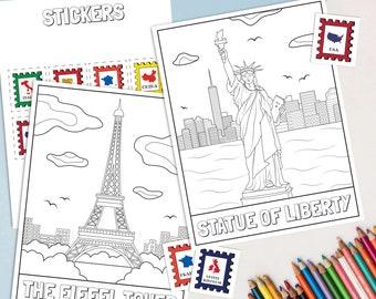 Presbyterian Children Coloring Book, A Bicentennial Celebration ... | 270x340