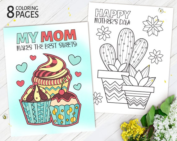 Printable Mother's Day Coloring Pages Coloring Pages for
