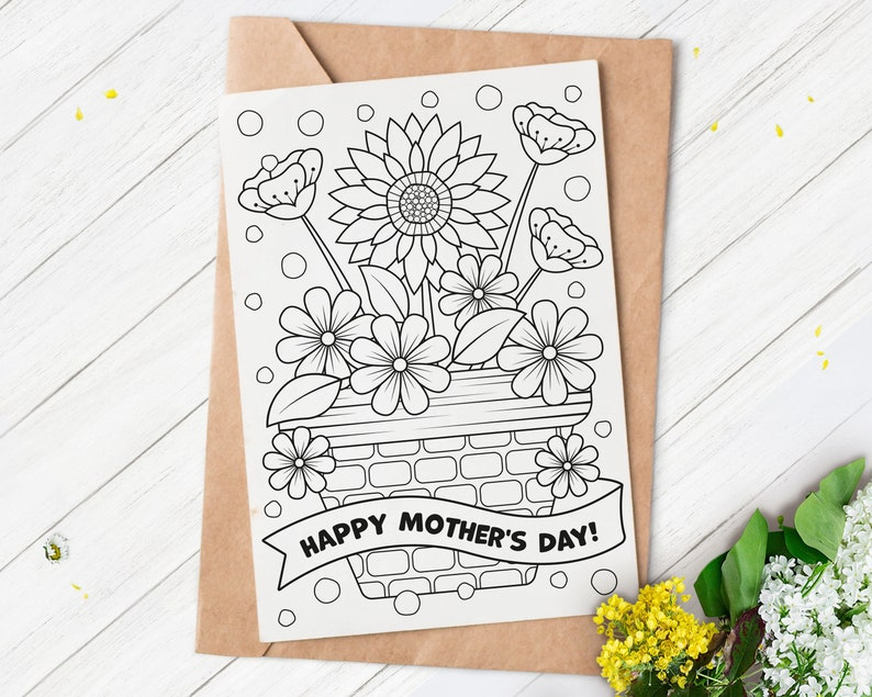 Mother's Day Card Printable Mother's Day Card