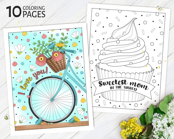 Mothers Day Coloring Pages Printable Mother's Day