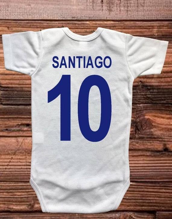 Chivas de Guadalajara baby one piece bodysuit Panalero mameluco personalizado.
