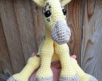PATTERN ONLY - Crochet Giraffe Pattern