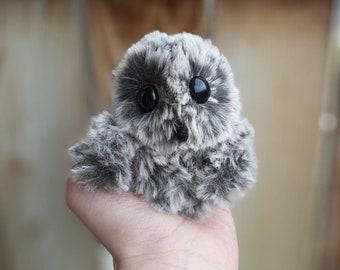 PATTERN ONLY Crochet Plush Amigurumi Owlet Pattern Only