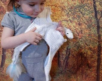 PATTERN ONLY Crochet Large Fire Dragon