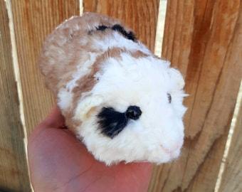 PATTERN ONLY Crochet Guinea Pig Pattern Faux Fur
