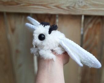 PATTERN ONLY Poodle Moth Crochet Pattern Only