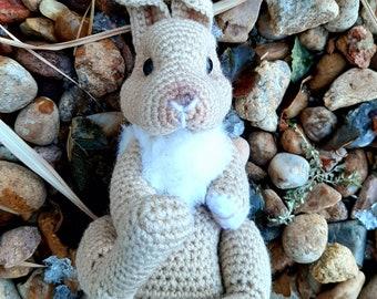 PATTERN ONLY Patch The Rabbit Crochet pattern