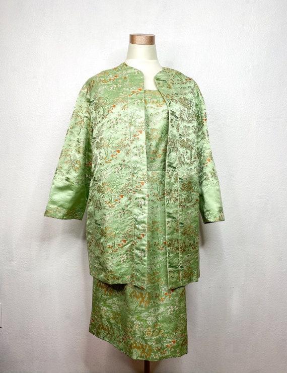 Vintage Two Piece Dress - image 1