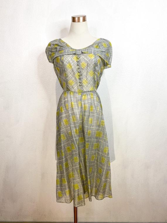1950's Swing Dress Medium