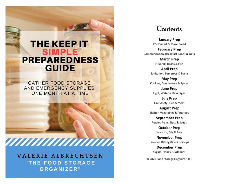 Food Storage Planner Guide  Latter-day Saint  Emergency Prep image 0