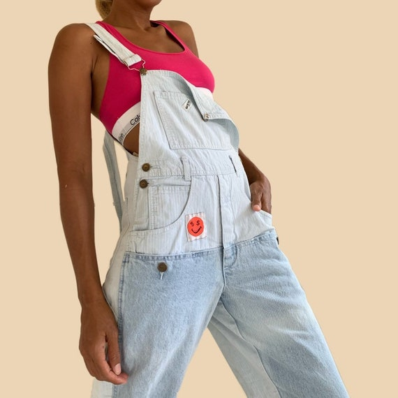 Vintage 90s GUESS Georges Marciano Overall Dungare