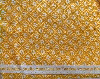 Dear Dorothy Karen Snyder Studio Anna Lena Timeless Treasures  Patt# Lena-C6996panel sun bonnet Sue overall sam