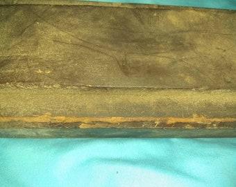 Sharpening stone whetstone antique tool late 1800's