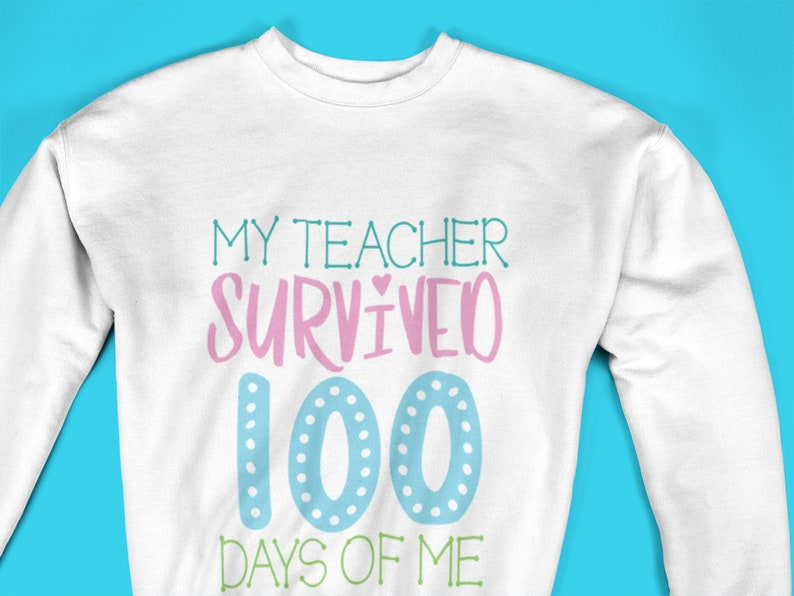 Outfit 100 Days Of School Girls 100 days of school Sweatshirt Personalized 100 Days Of School Shirt Shirt For Girls 100 Days of School