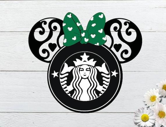 Minnie Mouse Starbuck Logo Svg Disney Mandala Svg For Your Etsy