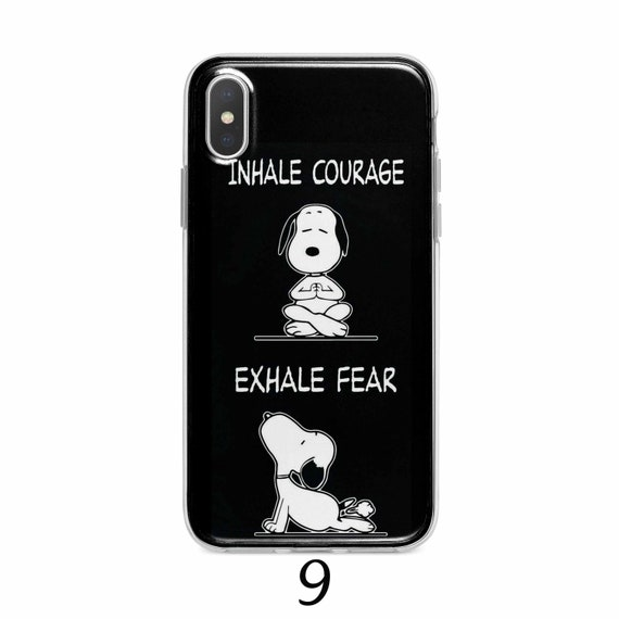 Fear and Courage iPhone 11 case