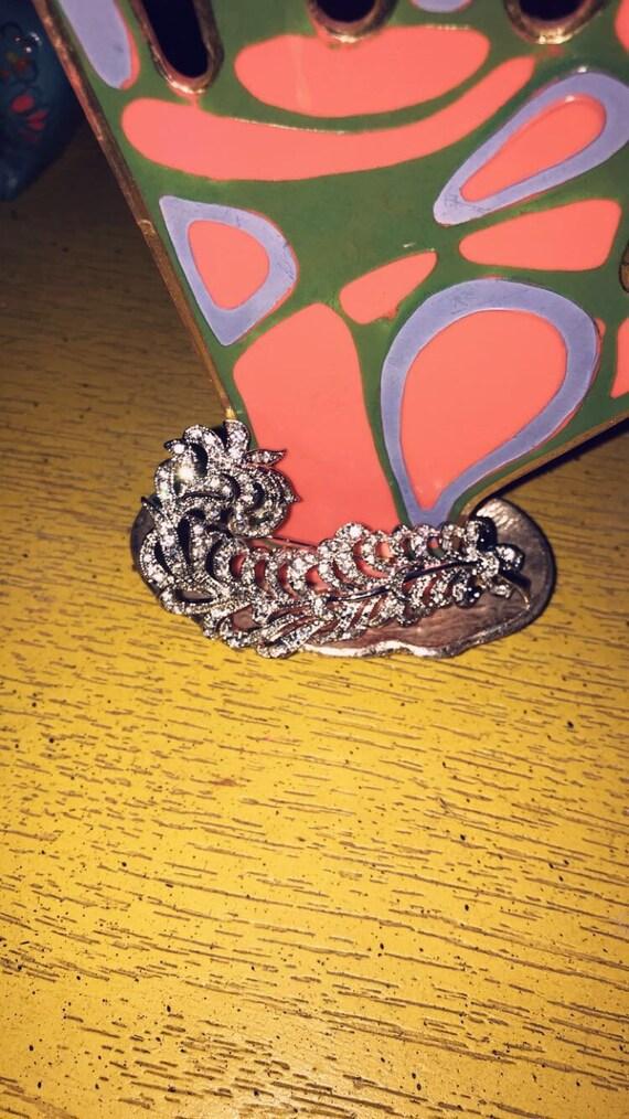 Vintage Avon Kenneth J Lane feather brooch