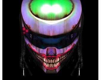Detalles de batman adesivi auto casco moto joker sticker helmet tunung print pvc 12 pz.