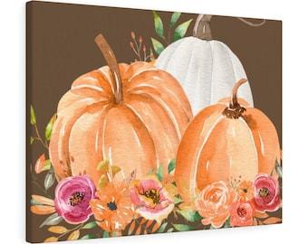 Pumpkins Canvas Gallery Wraps, Fall Decorations, Wall Art